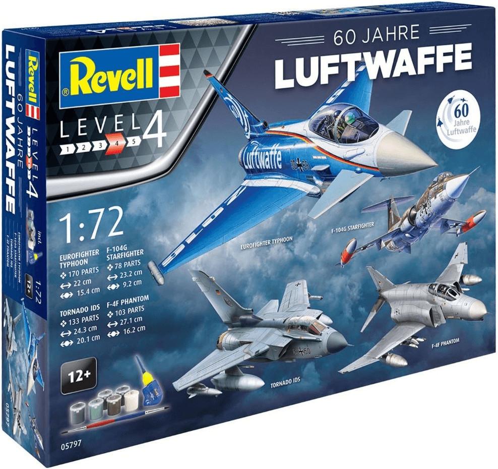 Revell Geschenkset 60 Jahre Luftwaffe (05797)