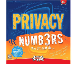 Image of Amigo Privacy Numbers (01657)