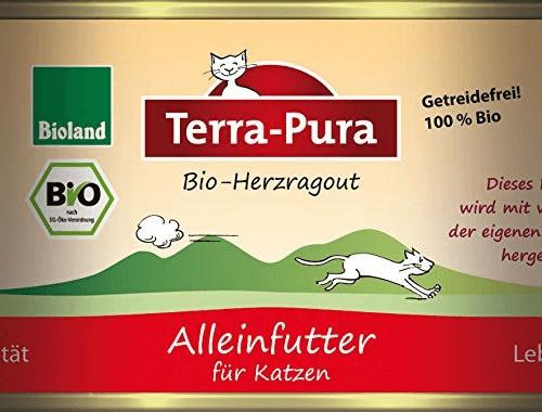 Terra Pura Katzenfutter Herzragout (200 g)