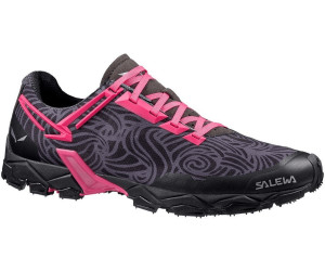 Salewa Lite Train - Bergschuh Damen, Damen Outdoor Fitnessschuhe, Schwarz (Black/Pinky 0934), 35 EU (3 Damen UK)