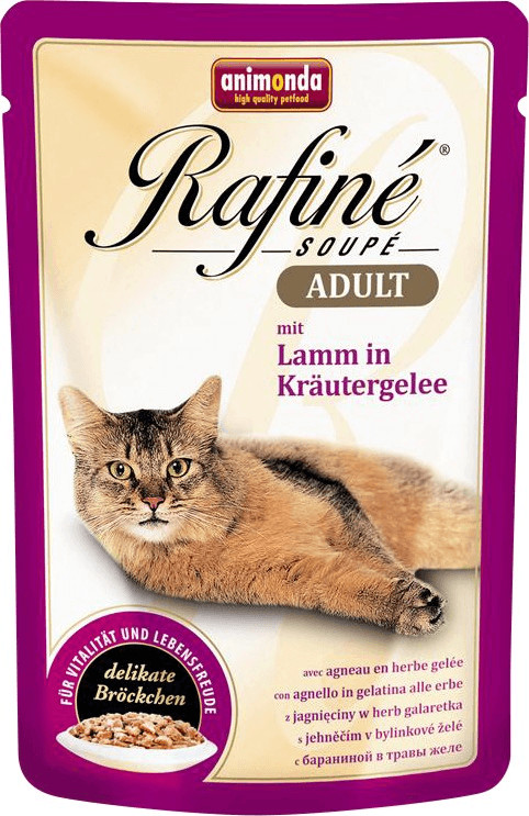 Animonda Rafine Soupe Adult Lamm in Kräutergelee