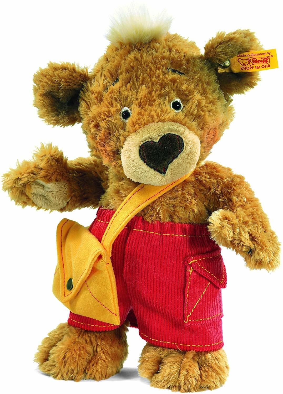 Steiff Teddybär mit gelber Tasche 25 cm