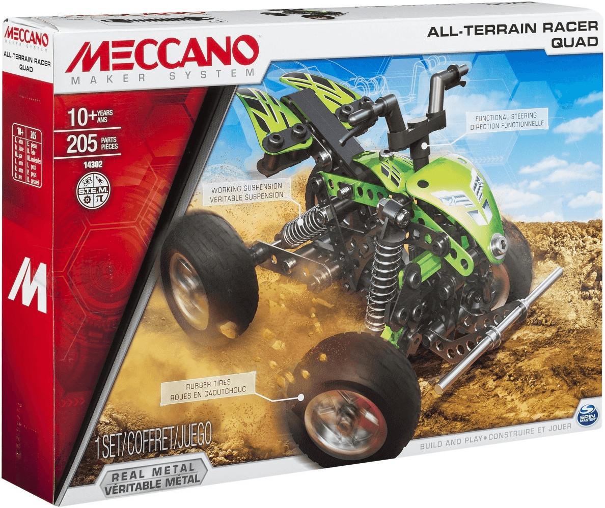 Meccano All-Terrain Racer Quad (6026718)