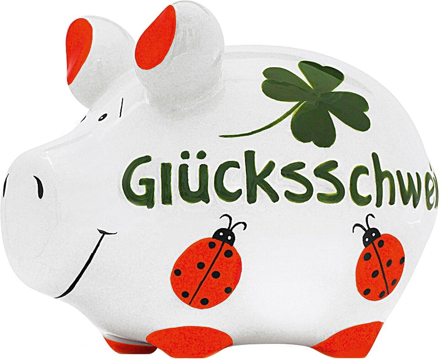 KCG Sparschwein Glücksschwein Grün