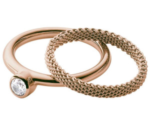 OVP JRSS010 Skagen Damenring 5 15,7 49,3   NEU Ring Strass elegant Gr