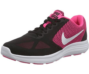 Nike Damen Revolution 3 Laufschuhe, Grau (Dark Grey/White/Black 001), 39 EU