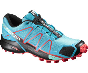 Salomon Damen Speedcross 4 Traillaufschuhe, Blau (Deep Peacock Blue/Lime Punch./Grape Juice 56), 9 UK