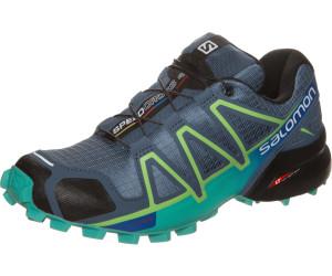 Salomon Speedcross 4 W Poseidon/Eggshell Blue/Black, Schuhe, Sneaker & Sportschuhe, Walking-Schuhe, Schwarz, Female, 37