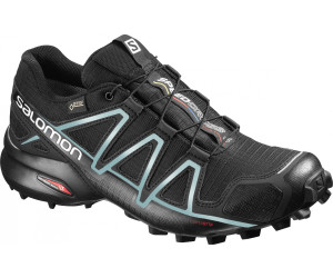 Salomon Speedcross 4 GTX Damen Trailrunning-Schuhe, Blau (Poseidon/Virtual Pink/Sunny Lime), 45 1/3 EU