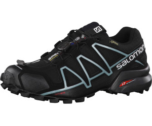 Salomon Women's Speedcross 4 GTX Trailrunningschuhe Black Black Metallic Bubble Blue | 3,5 (UK)