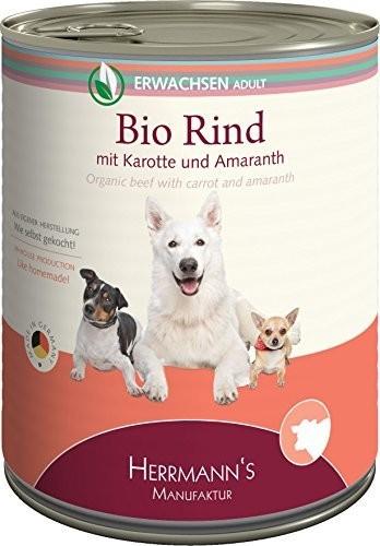 Herrmans Bio Rind mit Karotten und Amaranth (80...