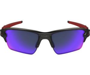 Oakley Sonnenbrille Flak 2.0 XL Positive Red Iridium Polished Black Brillenfassung - Sportbrillen PcJJSZZR96,