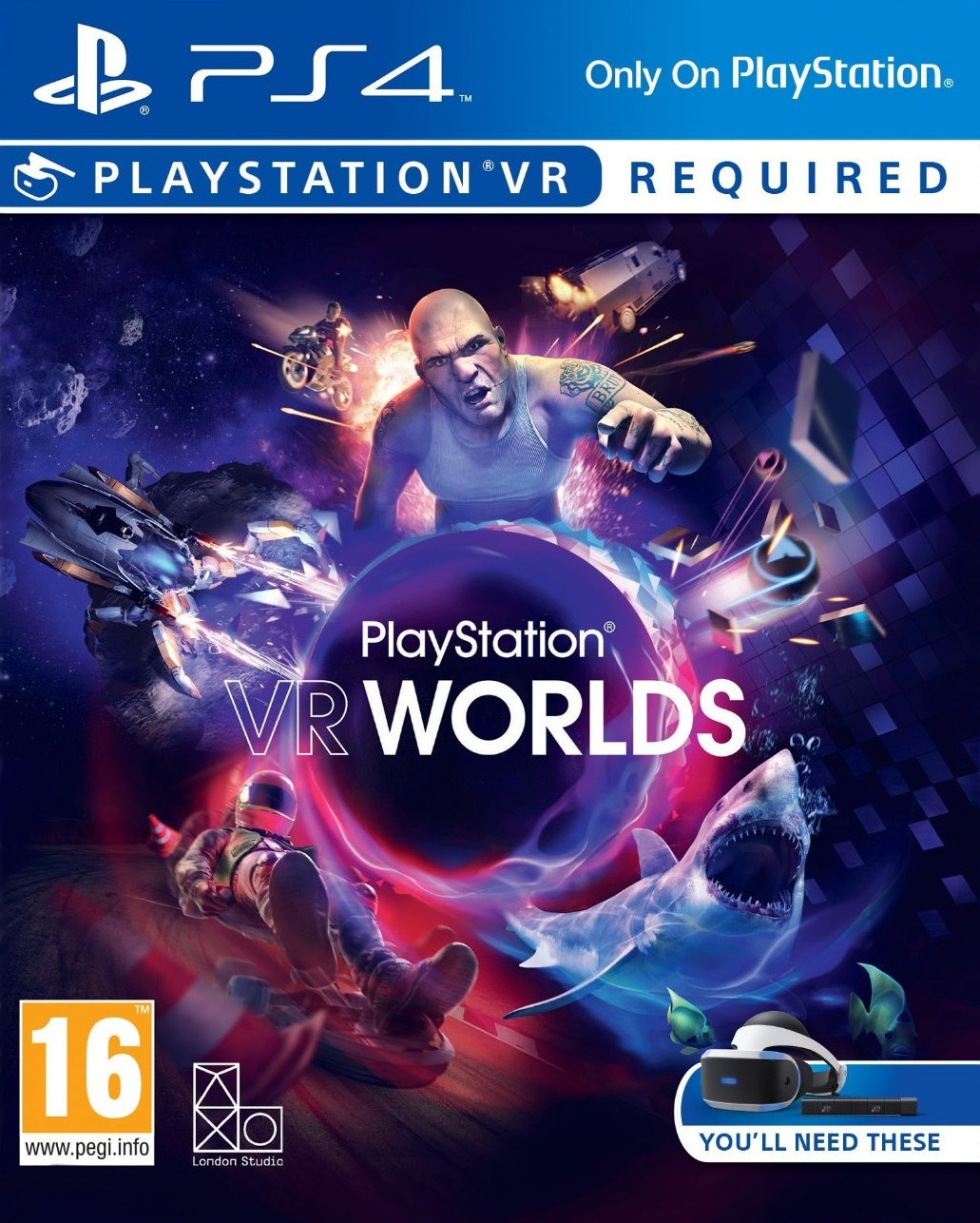 Image of PlayStation VR Worlds (PS4)