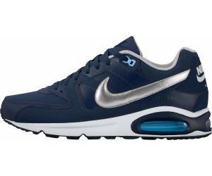 Nike Air Max Command Leather Blau Silber Schuhe für Herren