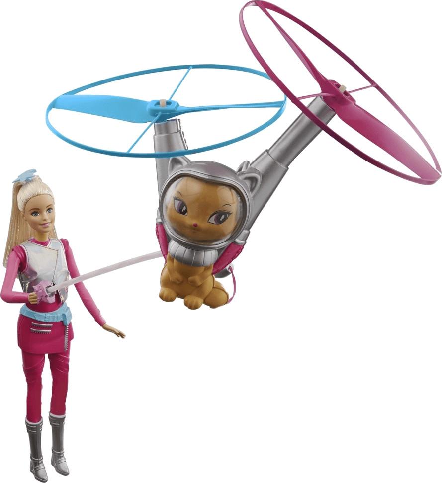Barbie & Fliegende Katze
