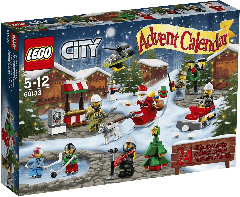 LEGO Calendrier de l'Avent City 2016 (60133)