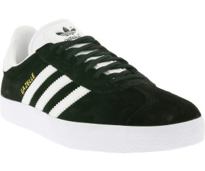 d6e27dab8dc Buy Adidas Gazelle Core Black White Gold Metallic from £44.99 – Best ...