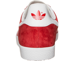 wholesale dealer 2b783 eec64 Adidas Gazelle ScarletWhiteGold Metallic