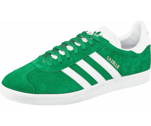 release date 79792 d84e3 Adidas Gazelle Green White Gold Metallic