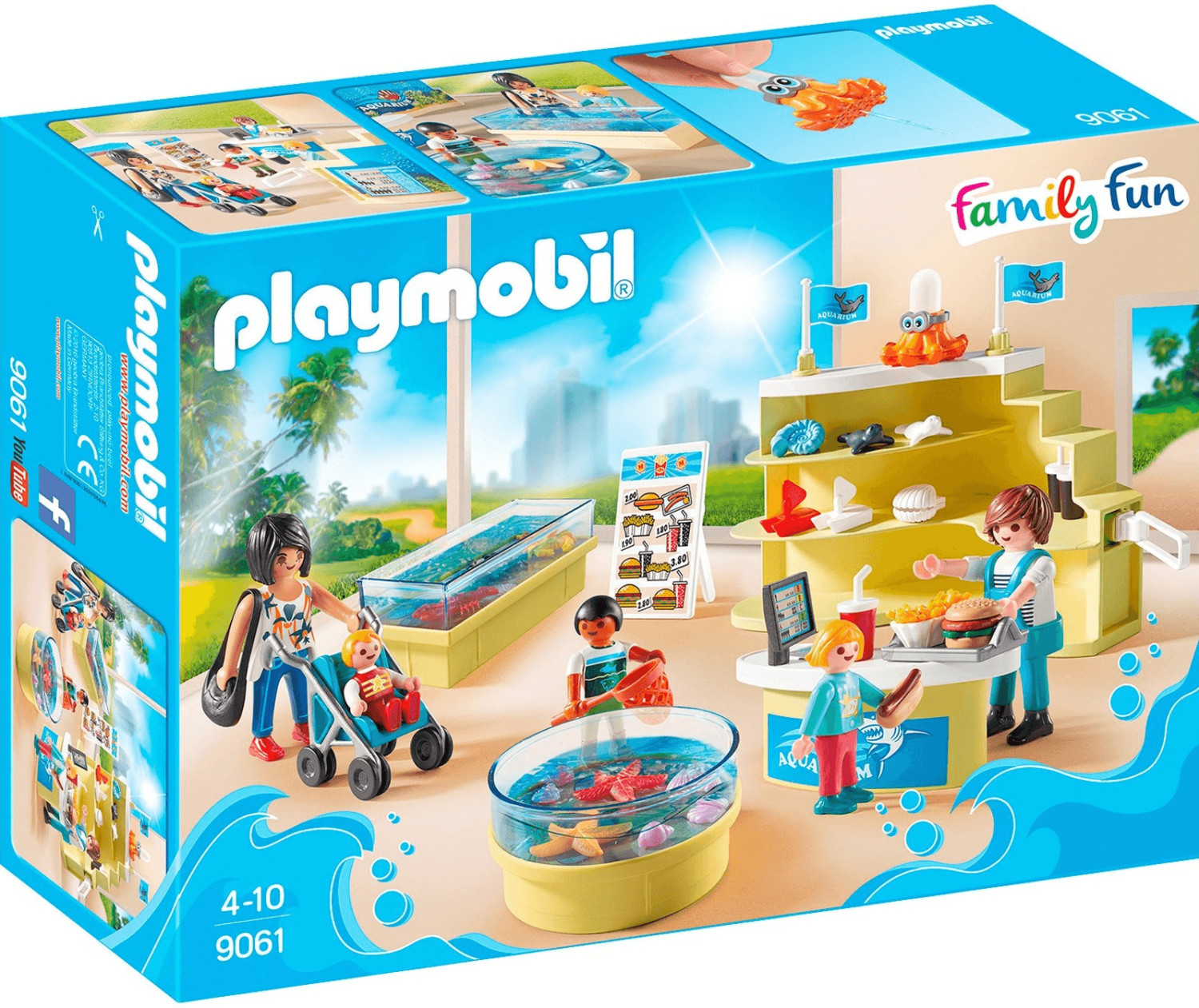Playmobil Family Fun - Aquarium-Shop (9061)