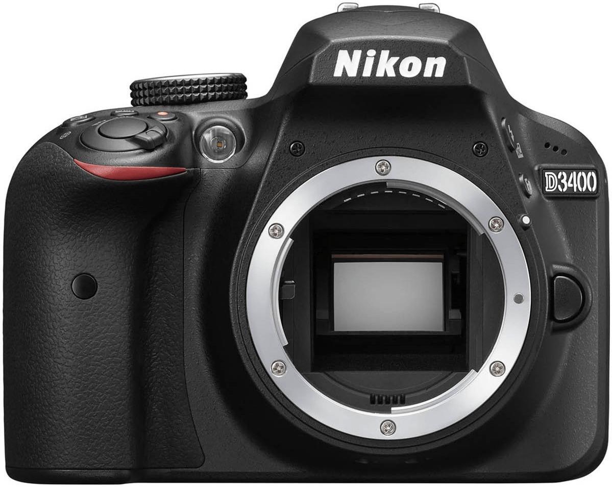 Nikon D3400 Cuerpo negro