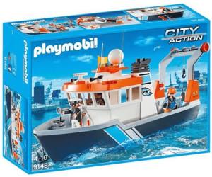 playmobil bateau remorqueur 9158 au meilleur prix sur. Black Bedroom Furniture Sets. Home Design Ideas