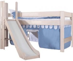 relita leo mit rutsche white wash bs1321146 b90 ab 557 06 preisvergleich bei. Black Bedroom Furniture Sets. Home Design Ideas