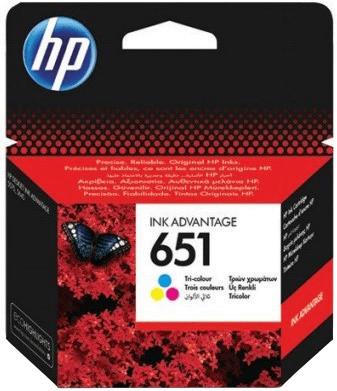 HP Nr. 651 3-farbig (C2P11AE)