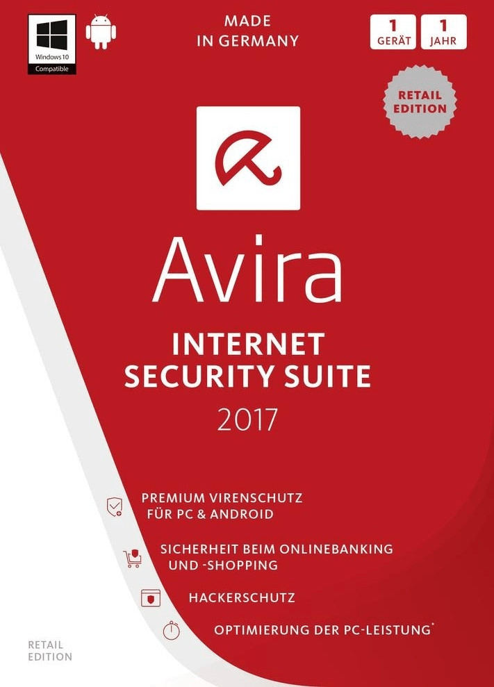 Image of Avira Internet Security Suite 2017