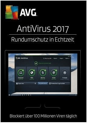 Image of AVG AntiVirus 2017 (1 Device) (1 Year)