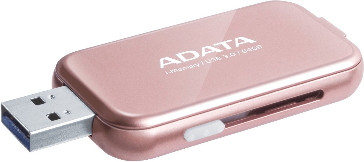 Adata i-Memory UE710 64GB pink