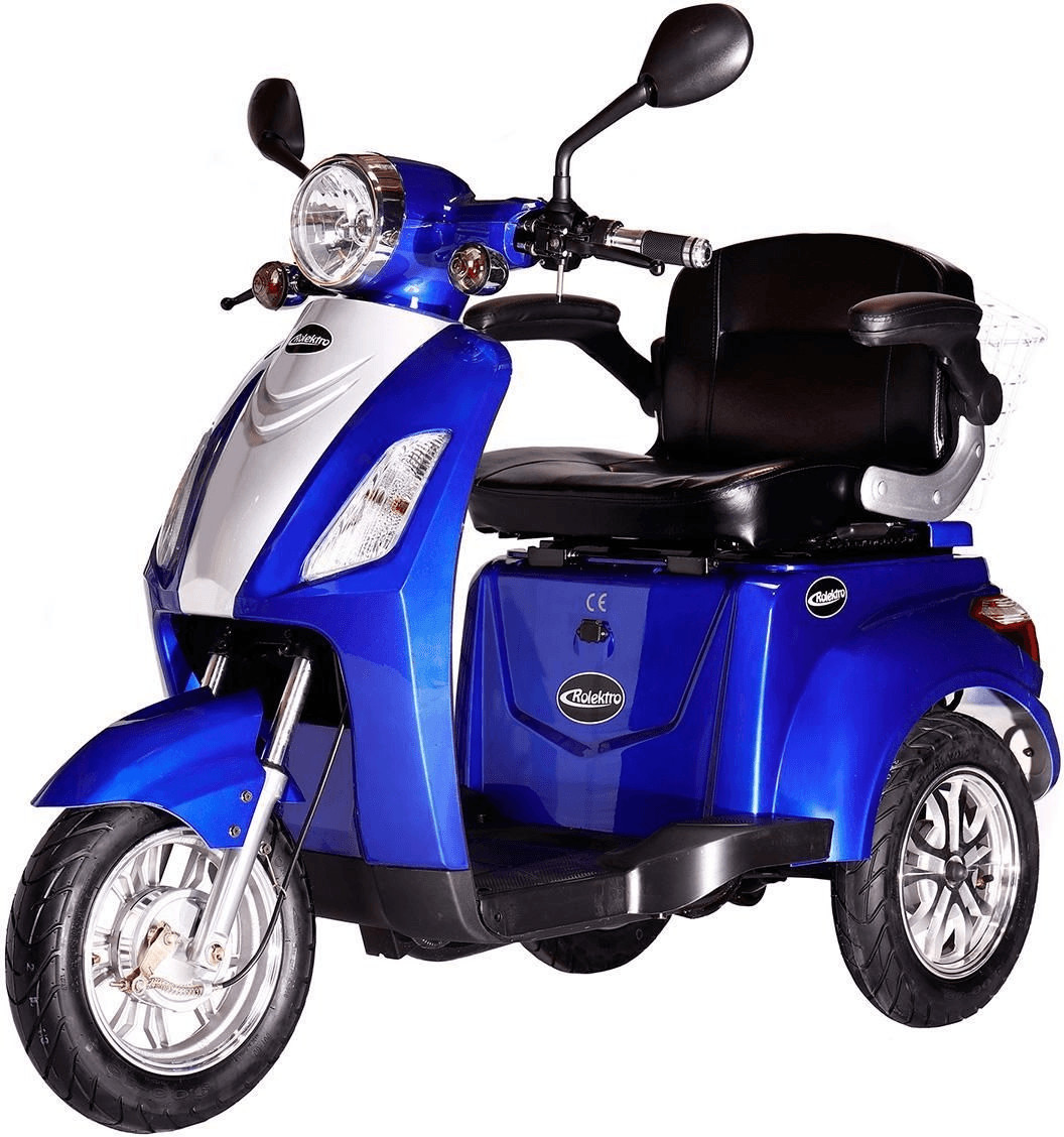 Rolektro E-Trike 25 blau