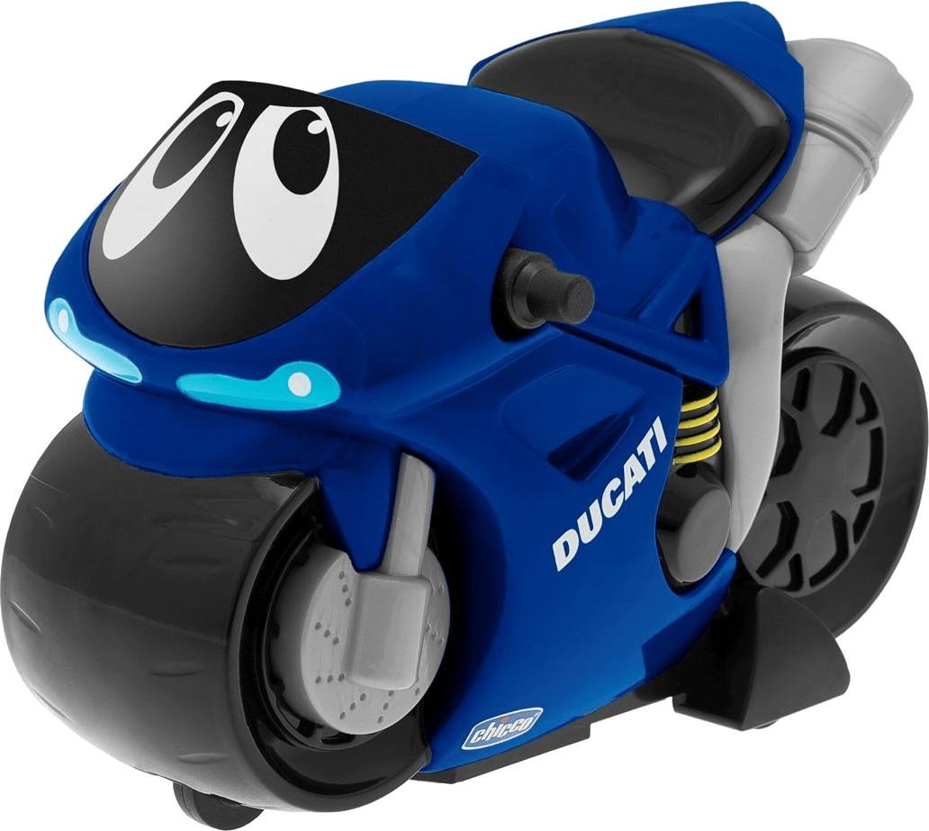 Chicco Turbo Touch Motorrad blau