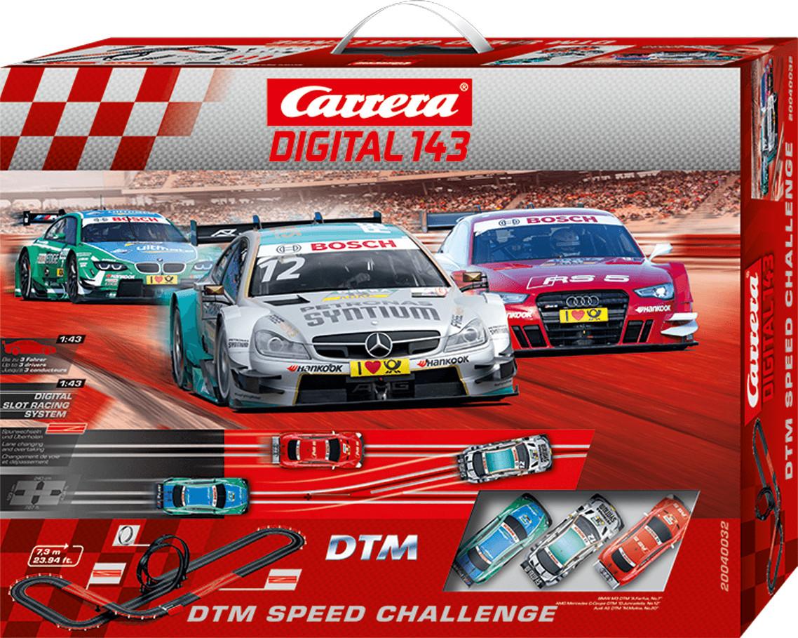 Carrera Digital 143 DTM Speed Challenge