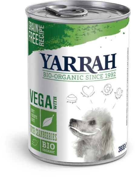 Yarrah Bio-Hundefutter Bröckchen Vega 380g