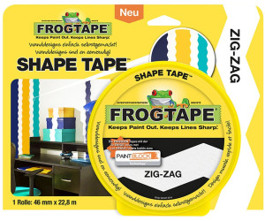FrogTape Shape Tape Zig-Zag 46mm x 22,8m
