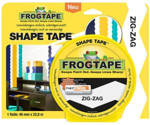 FrogTape Shape Tape Zig-Zag 46mm x 22,8m
