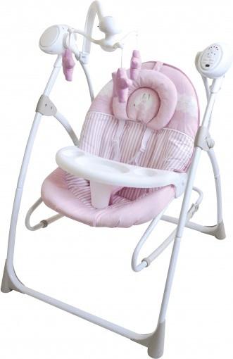 Asalvo Hamaca 3 en 1 Baby Rabbit rosa