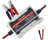 Dino Batterieladegerät 6V12V, 4A mit Polklemmen und