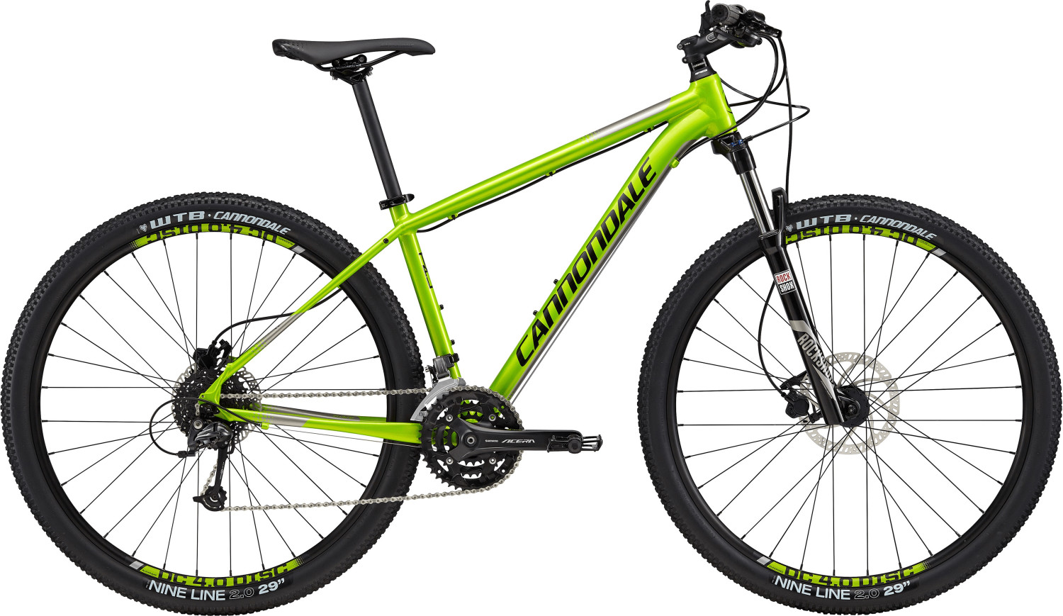Cannondale Trail 4 (29) (2017) grün