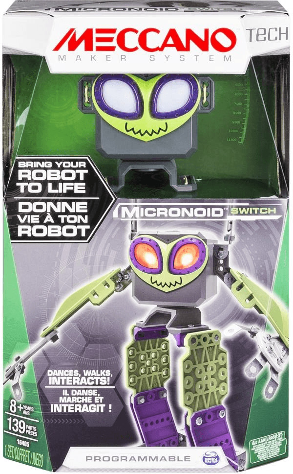 Meccano MicroNoid - Green Switch