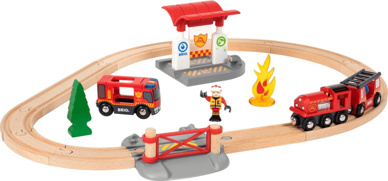 Brio Bahn Feuerwehr Set (33815)