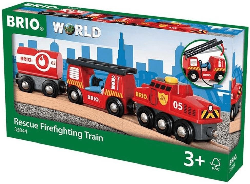 Brio Feuerwehr-Löschzug (33844)