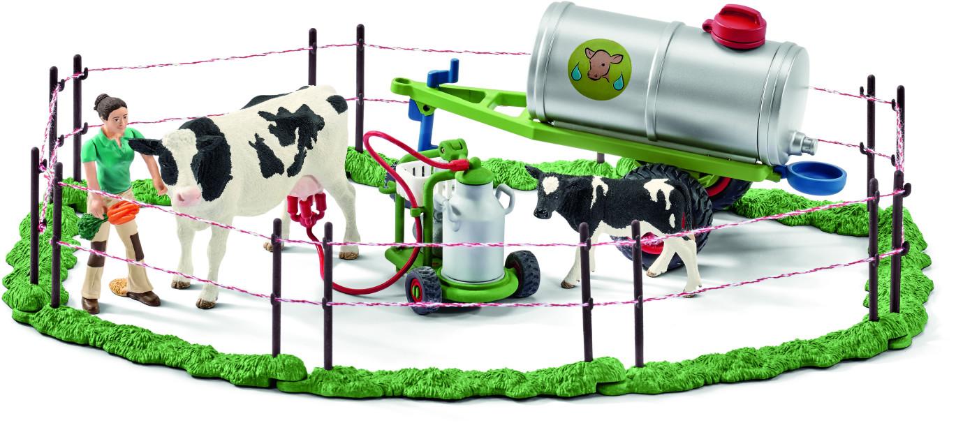 Schleich Kuhfamilie auf der Weide (41428)