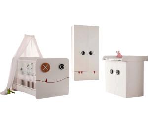 h lsta now minimo kombination kleiderschrank 2 trg babybett kommode 2 trg ab. Black Bedroom Furniture Sets. Home Design Ideas