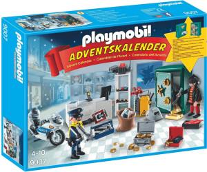 Calendrier De L Avent Playmobil Pas Cher.Playmobil Calendrier De L Avent Policier Et Cambrioleur