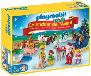 Playmobil Calendrier de l'Avent 1.2.3 Noël à la ferme (9009) au