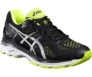 Asics Gel-Kayano 23 black/silver/safety yellow
