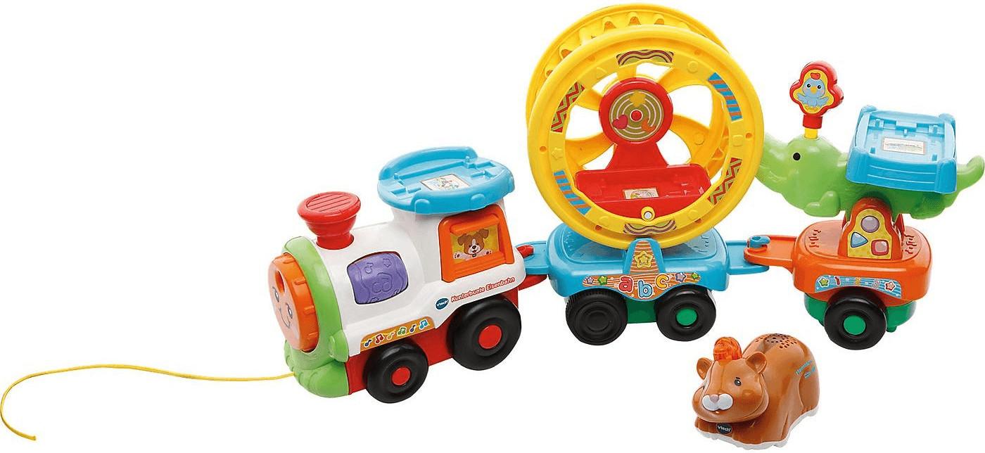 Vtech Tip Tap Baby Tiere - Kunterbunte Eisenbahn