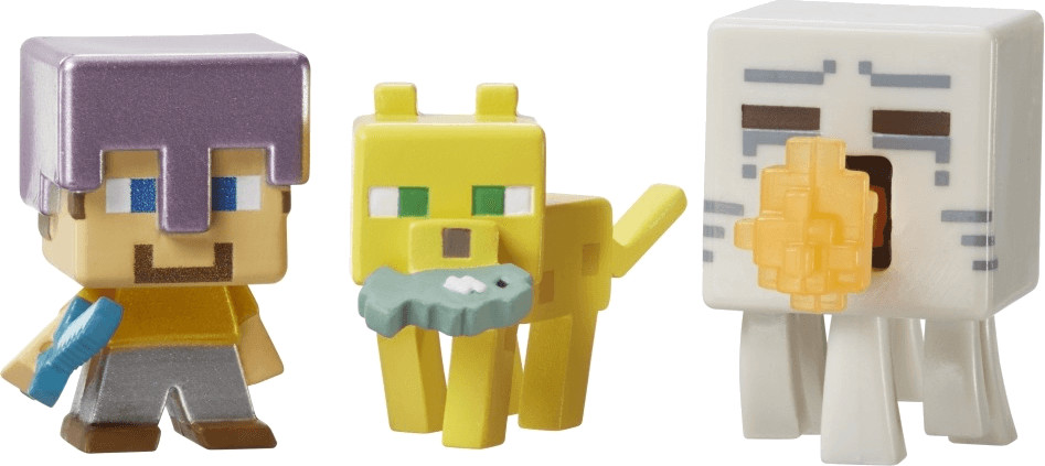 Mattel Minicraft Mini-Figure 3-Pack